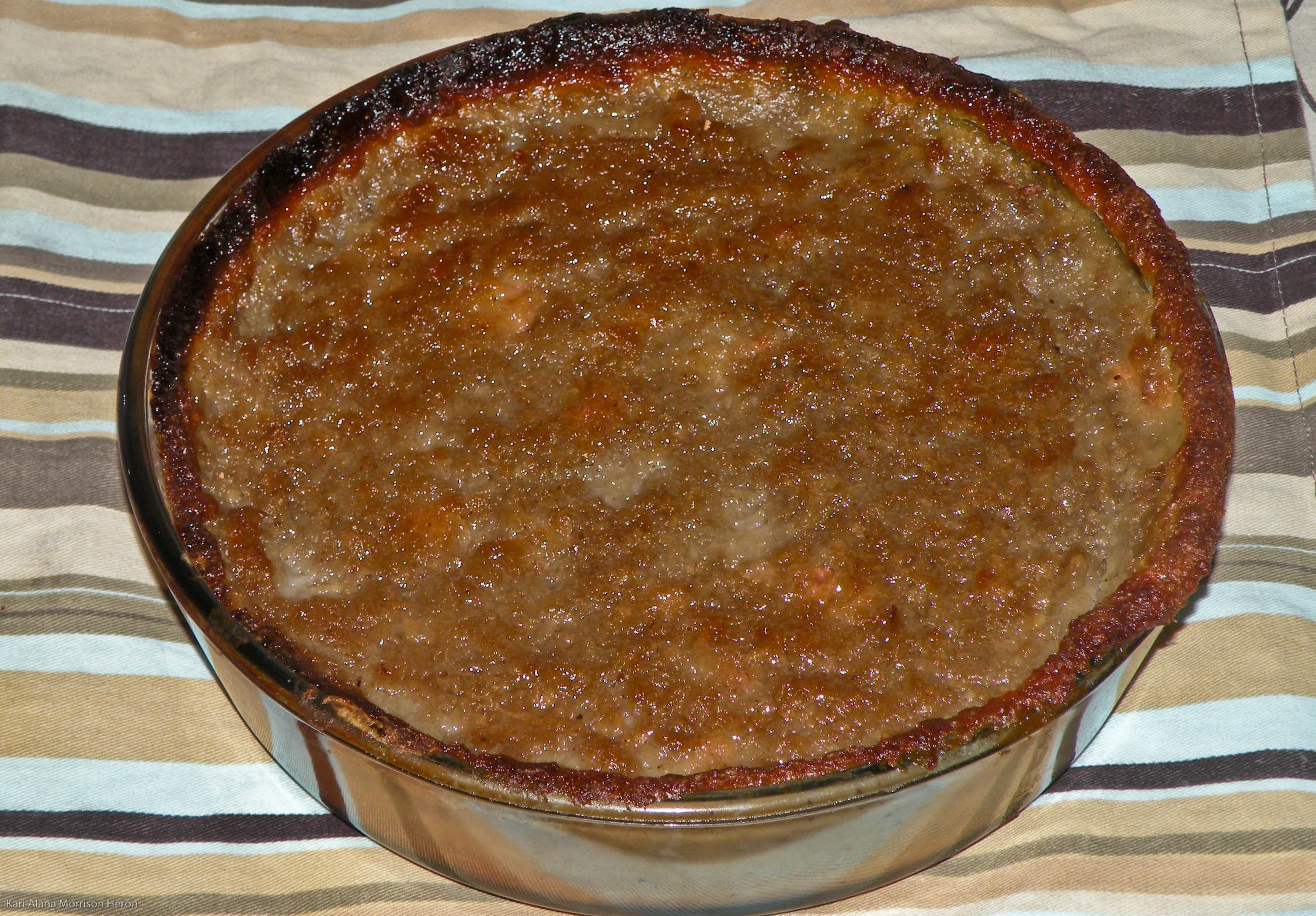 Sweet Potato Pudding (Vegan)