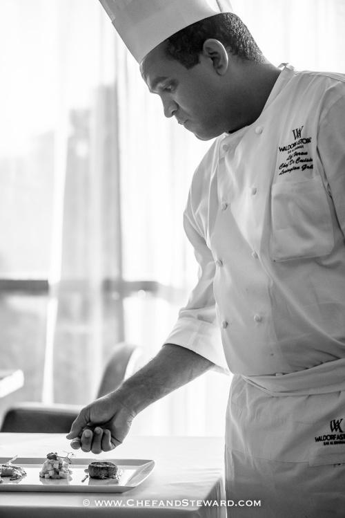 Behind the scenes Lexington Grill Waldorf RAK  best UAE steakhouse -11